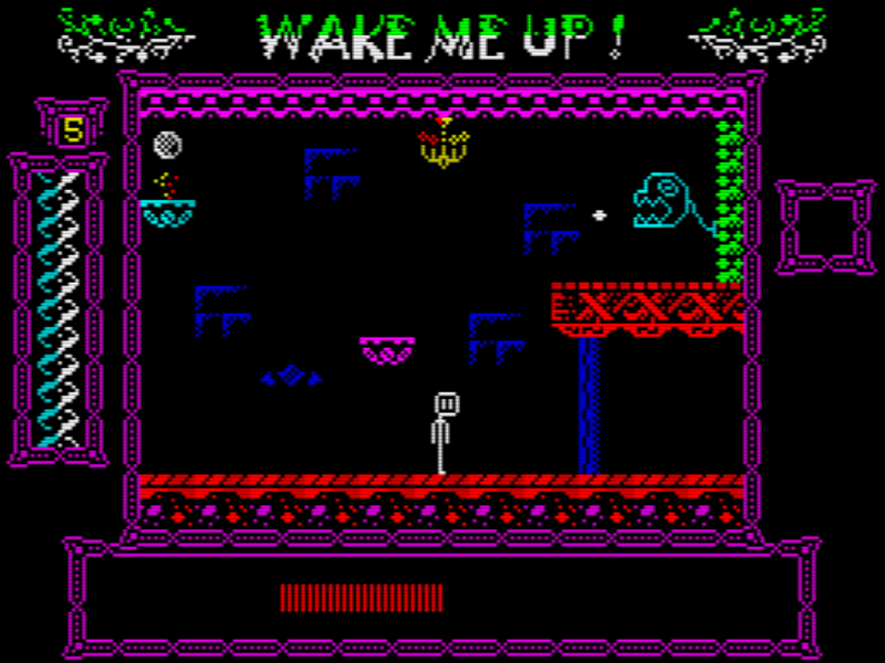Indie Retro News Wake Me Up A New 48k Zx Spectrum Game