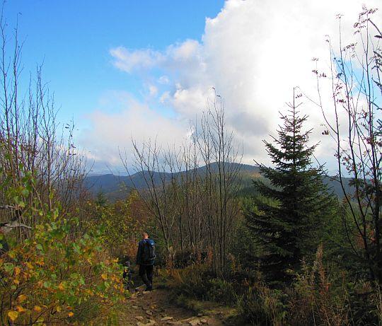 Zejście z Jasnej Góry.