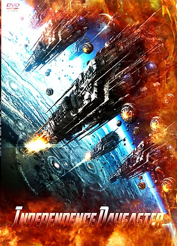 capa Filme Independence Daysaster   DVDRip AVI + RMVB Dublado