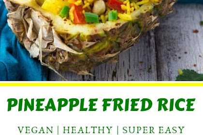 Thai Pineapple Fried Rice Recipe (Vegan)