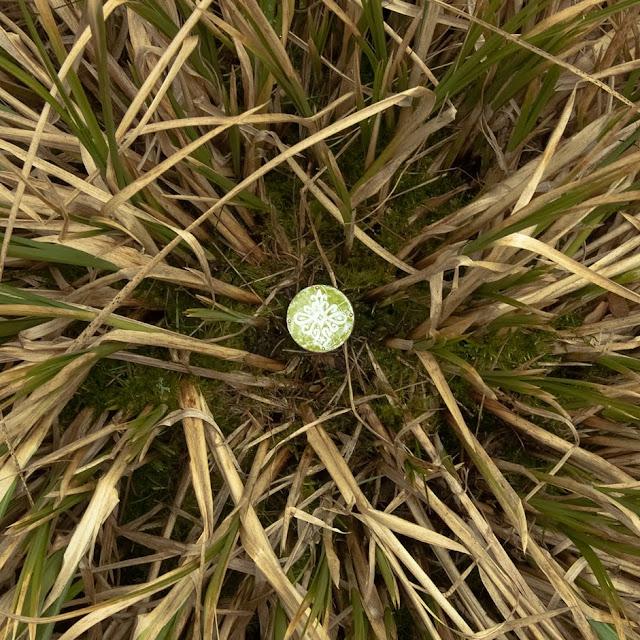 Gałki do szafek - zielone - emaliowana parzenica