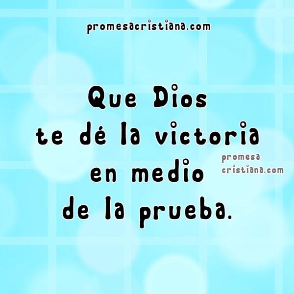 Cita Bíblica cristiana de lograr la victoria, frases de la Biblia verso bíblico de triunfar, el triunfo, enfrentar situaciones y tener éxito,