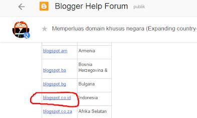 Ini Jawaban Google Indonesia Soal Blogspot Jadi .CO.ID