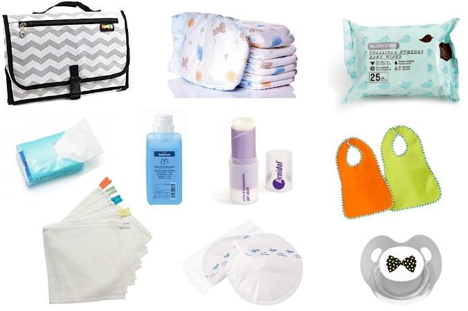 Básicos imprescindibles en el bolso de paseo del bebé