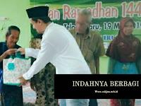 Bakti Sosial Ramadhan Desa Tlogowaru, Indahnya Berbagi.
