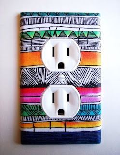 Colokan listrik lucu