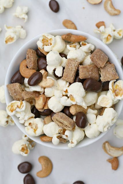 Popcorn Trail Mix Recipe