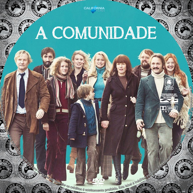 Label DVD A Comunidade [Exclusiva]