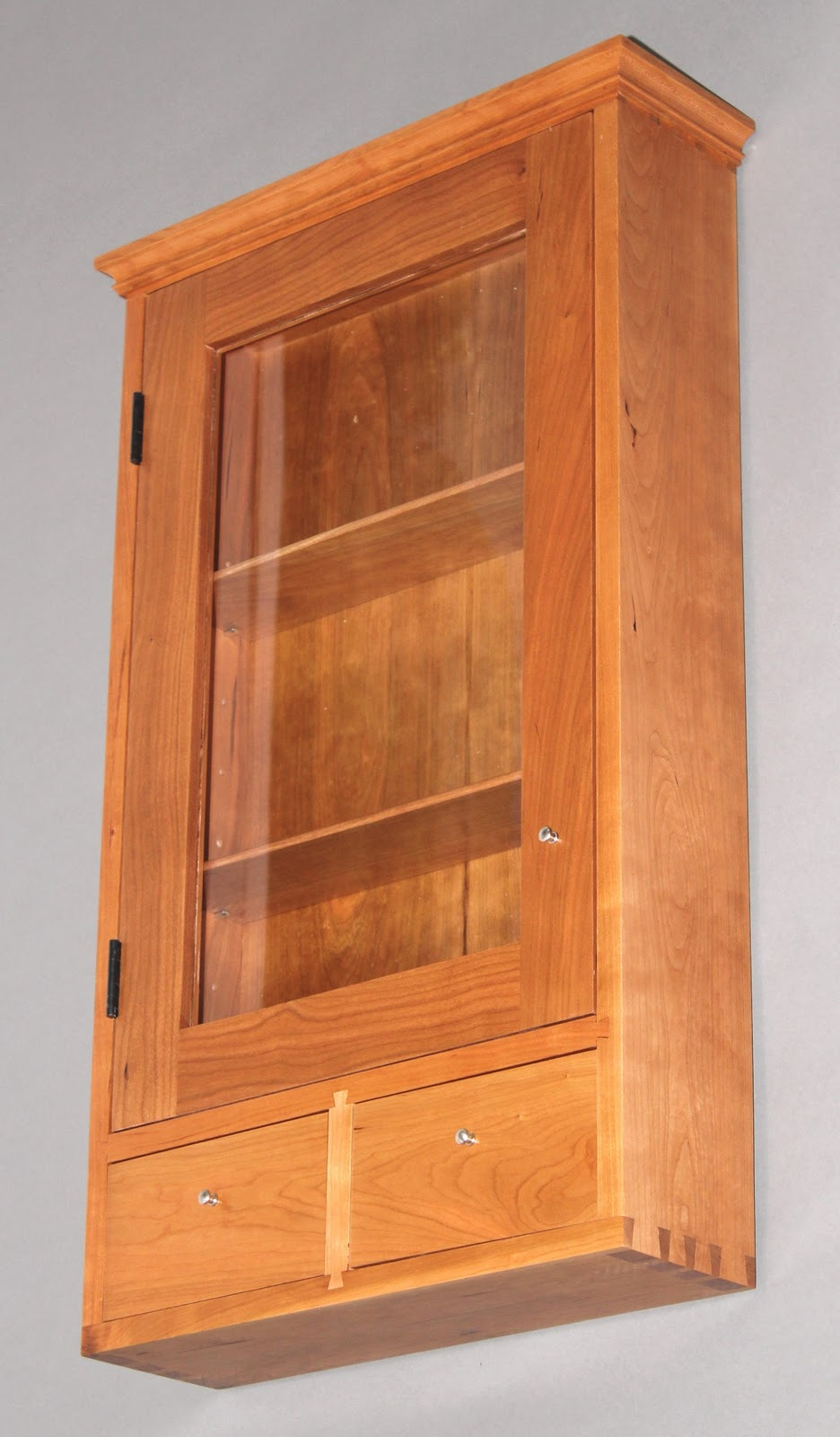 Custom Woodworking Furniture and Cabinetry by Blue Spruce Joinery Custom Cherry Medicine