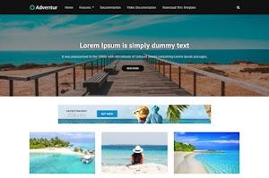 Adventur - Responsive Blogger Template