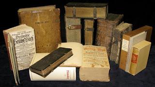 Libros y otros documentos procedentes de Martin Petzoldt.