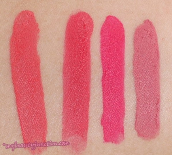 Bourjois Rouge Edition Velvet Lipstick review, swatches