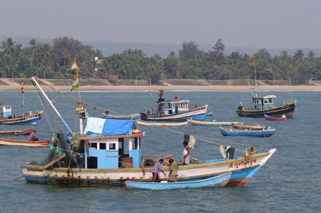 Boats at Vengurla Jetty