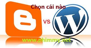 blogpspot, wordpress, kiem tien online