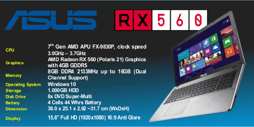 laptop asus amd fx