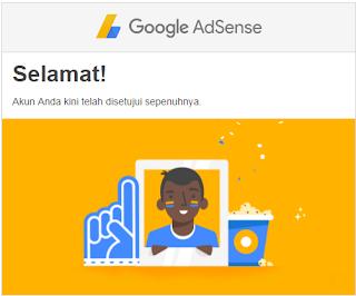 Cara Mudah Diterima Google Adsense Full Approve