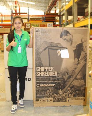 Thailand Garden Mulcher Shredder Chipper Delivery