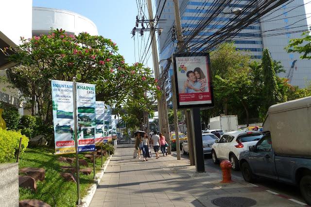 Ulica w Bangkoku