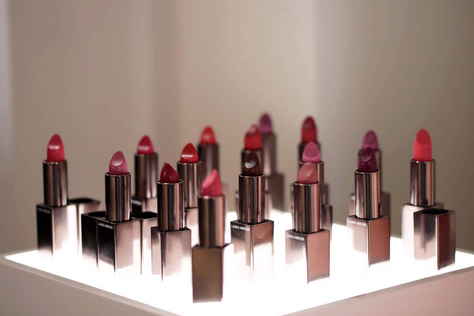 laura mercier rouge essentiel silky creme lipstick rouge à lèvres printemps 2019 swatch