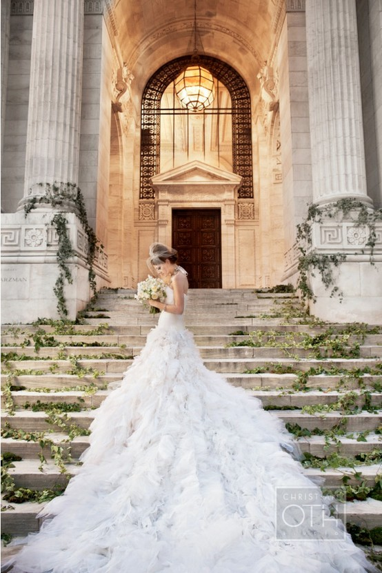 Holy Wedding Dress Train Stunning And I Am Sure With A Hefty Price By The Way Taken At New York Public Library Just One Of Many Places