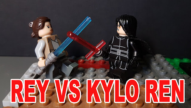 Rey VS Kylo Ren, Star Wars