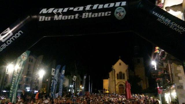 Gran participación de Cristofer Clemente y Laura Orgué en la Marathon du Mont Blanc