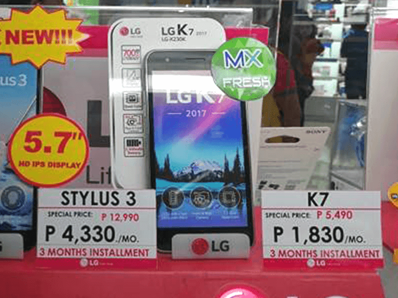 LG K7 2017 With 700 MHz LTE Now Official In PH For PHP 5490!