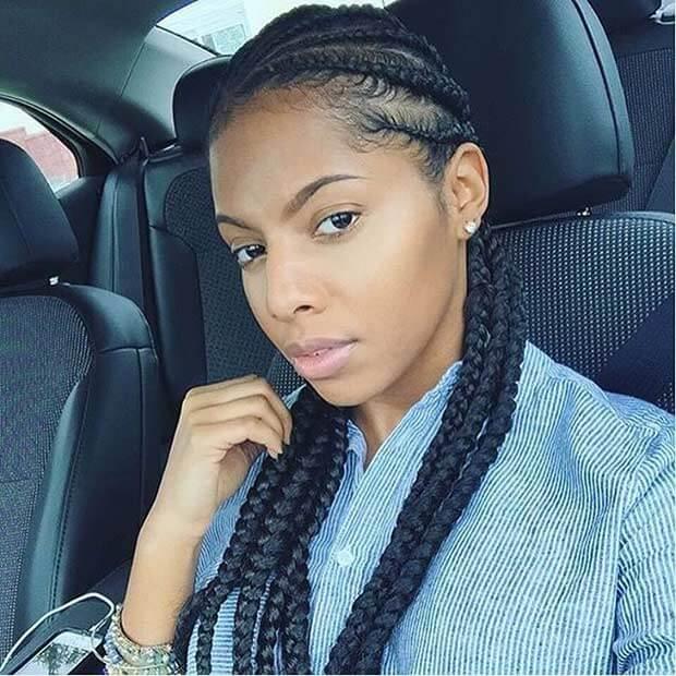 32 Fulani Easy Braided Hairstyles For Black Hair 2018