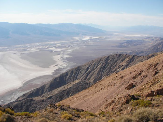 death valley, valle de la muerte, desiertos de california, Dante´s view