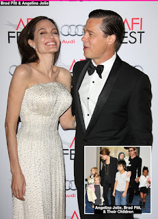 Angelina Jolie: Kids 'Devastated' Over Split & Begging Her To Reunite With Brad Pitt
