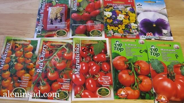 сорта томатов, перец, виола, для посева в феврале и марте, семена, аленин сад