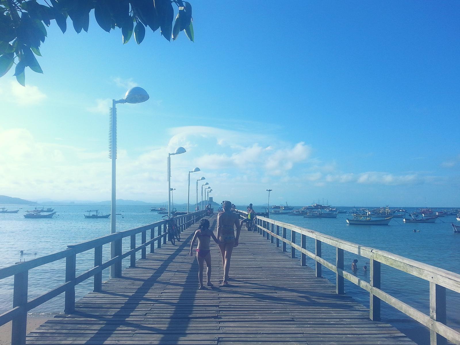 Praia da Penha em Santa Catarina