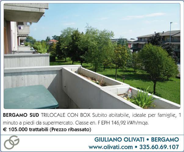 Bergamo Sud trilocale vendita affare