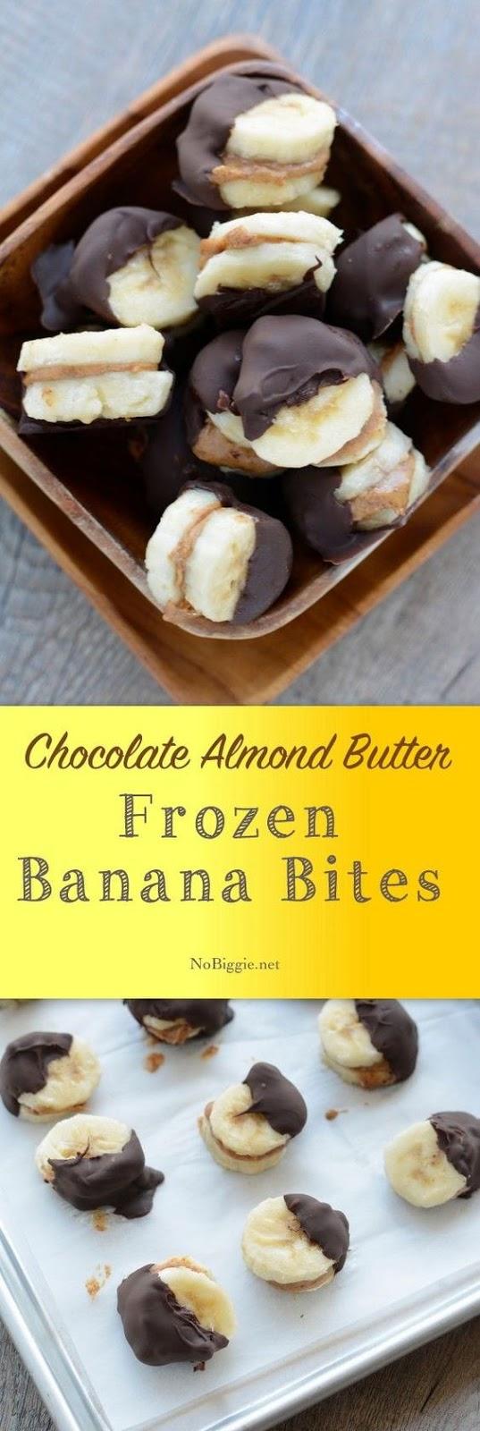 Frozen Banana Bites #frozen #banana #bites #healthyfood #healthysnack #healthysnackideas