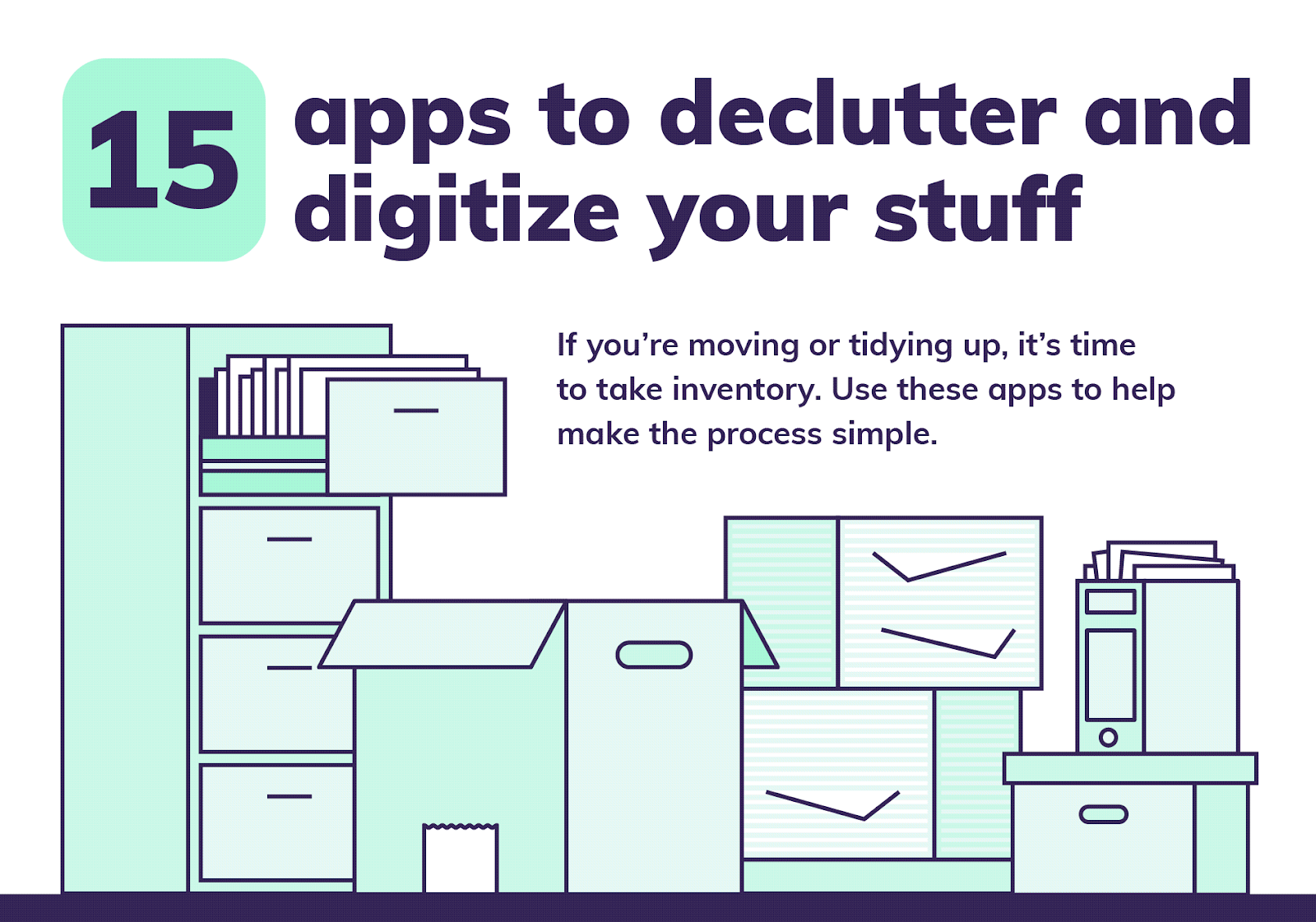 The Best 15 Apps for Decluttering and Digitizing Your Life