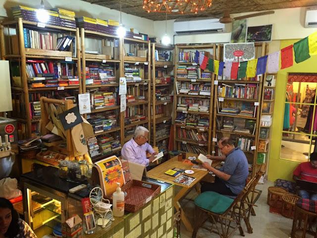 pagdandi book cafe pune