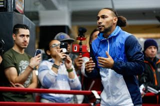 Keith Thurman Photos - Open Workouts