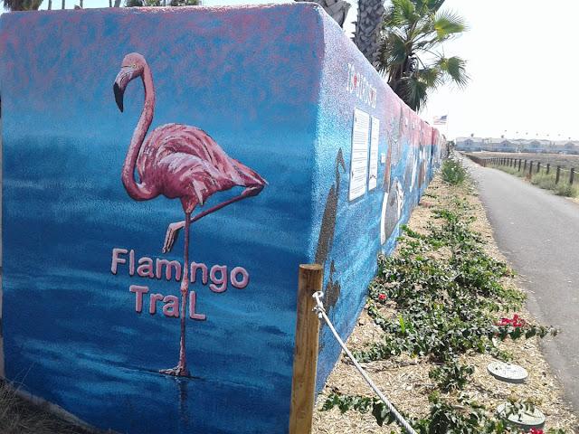 Flamingo Trail. Bayshore Bikeway Pond 10A