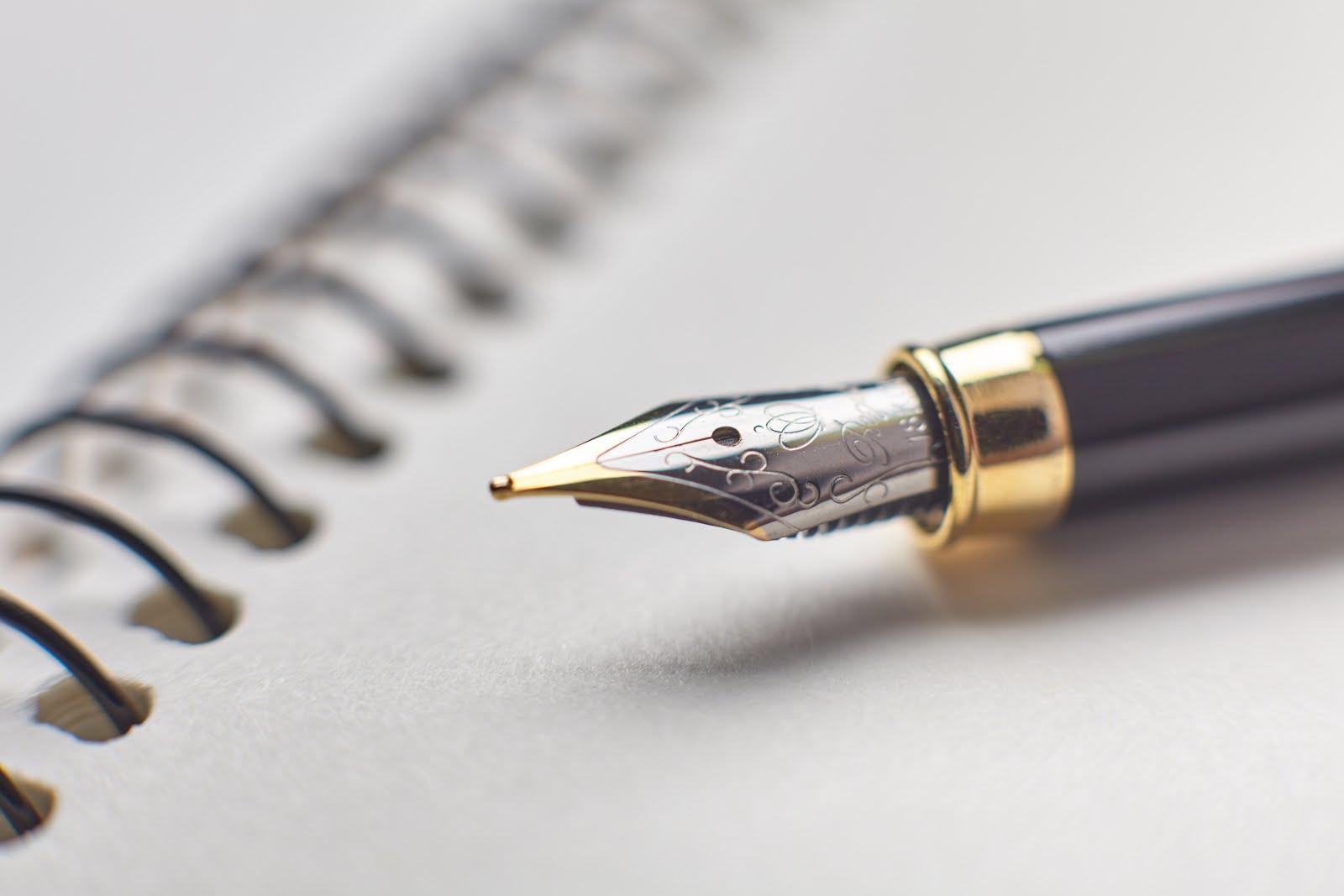 Keine Ahnung.: 物書きにはボールペンよりは万年筆がいい