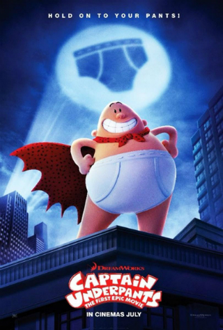 Captain Underpants: The First Epic Movie [2017] [DVDR] [NTSC] [Latino]