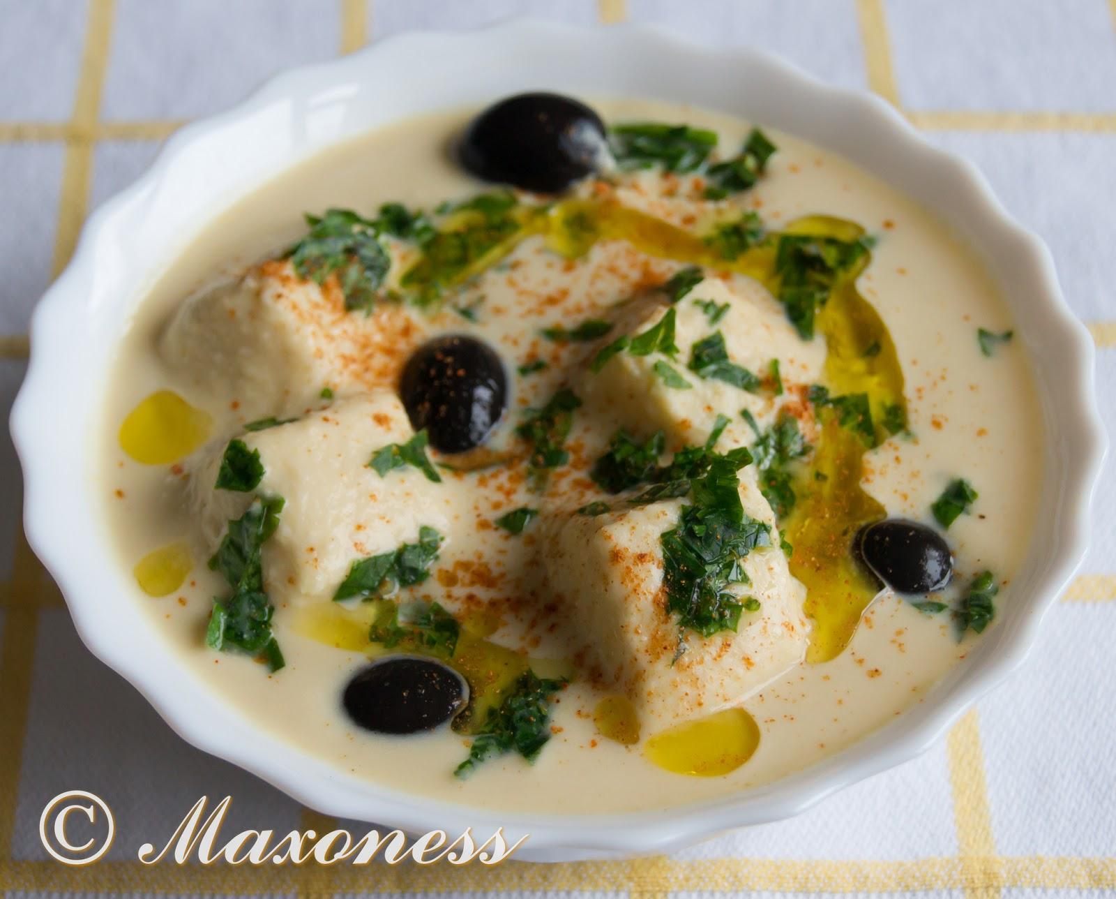 Нутовый суп. Кипрская кухня.