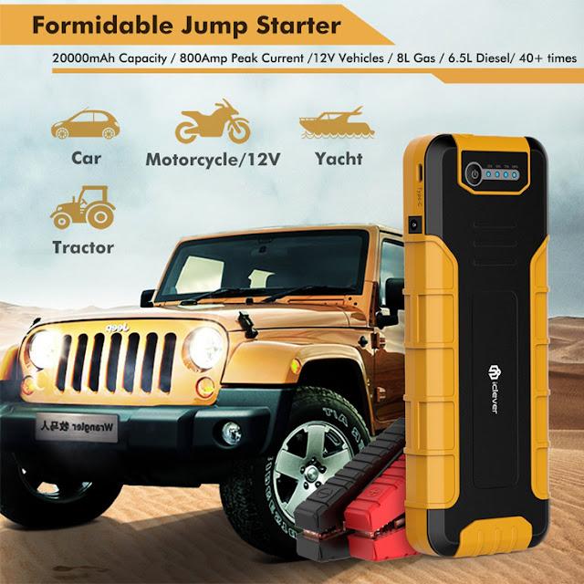 Με αυτή την μπαταρία φορτίζεις τα πάντα και βάζεις μπροστά και το αμάξι σου άμα μείνεις!