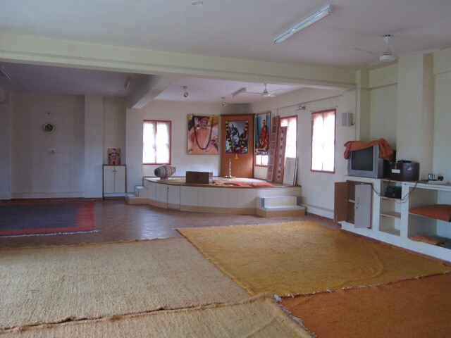 Atma Darshan Yoga Ashram Yoga Hall