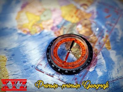 Prinsip-prinsip Geografi, Prinsip Geografi, Prinsip Geografi Distribusi, Prinsip Geografi Interrelasi, Prinsip Geografi Deskripsi, Prinsip Geografi Korologi.