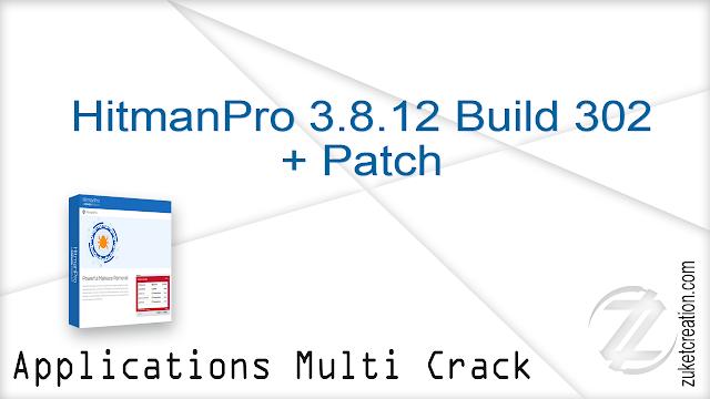 HitmanPro 3.8.12 Build 302 + Patch   |  14.3 MB