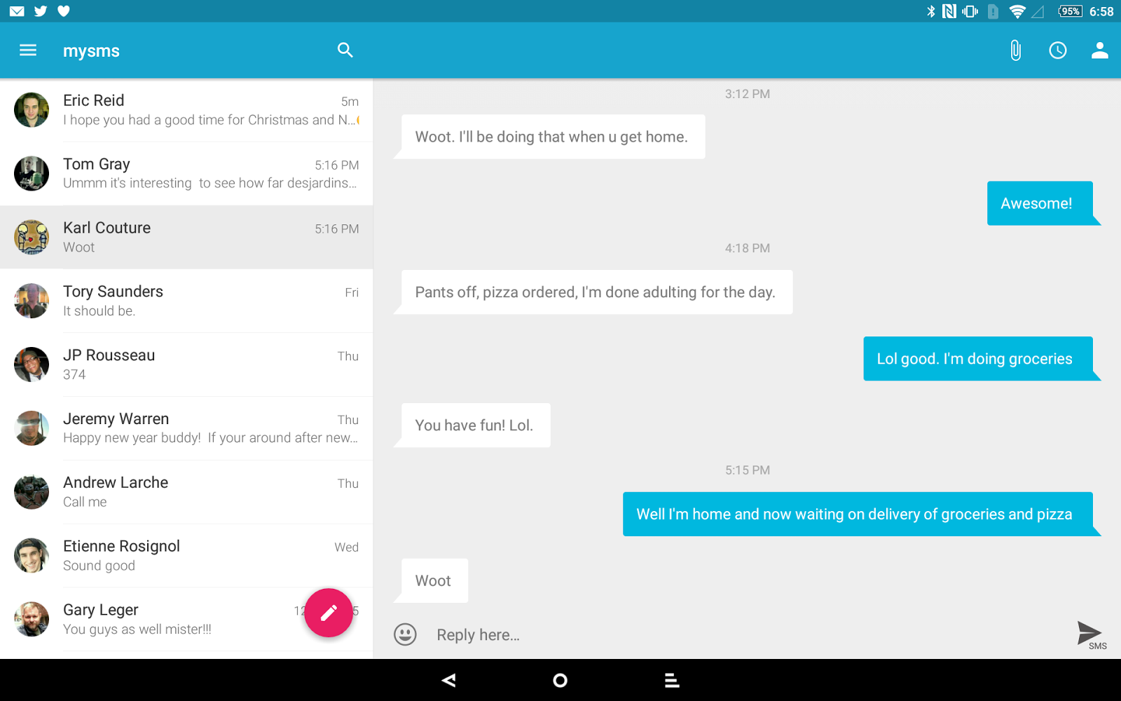 UPDATE] mySMS+Pushline is taking over for what Pushbullet