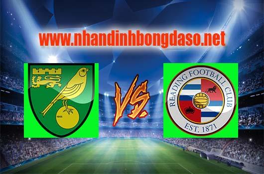 Nhận định bóng đá Norwich City vs Reading, 21h00 ngày 08-04