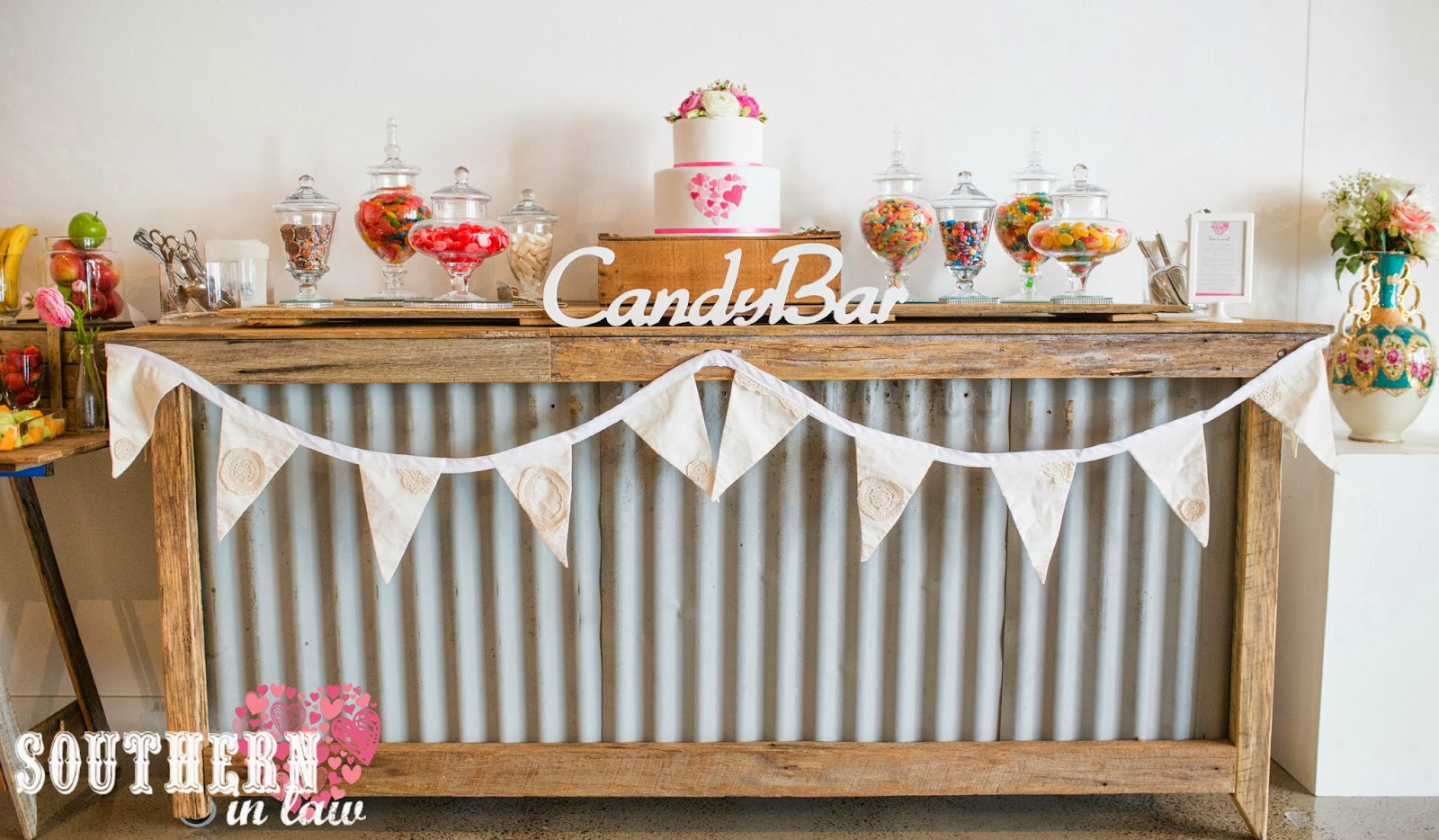 wedding recaps our gluten free candy bar wedding candy bar Vintage Rustic Gluten Free Candy Bar Sydney