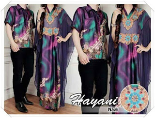 model baju batik untuk pesta pernikahan elegan