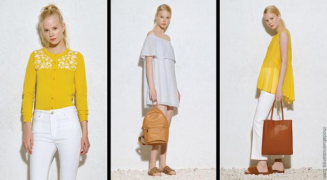 Moda verano 2018 ropa de moda para mujer. Moda 2018.